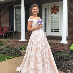 3524b775ff4b Sherri hill prom dress